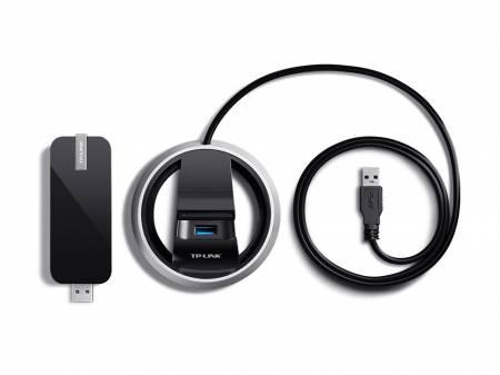 Безжичен High Gain Dual Band USB адаптер TP-Link AC1900 Archer T9UH