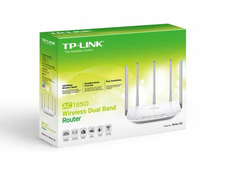 TP-Link Archer C60 Dual Band AC1350 Безжичен рутер