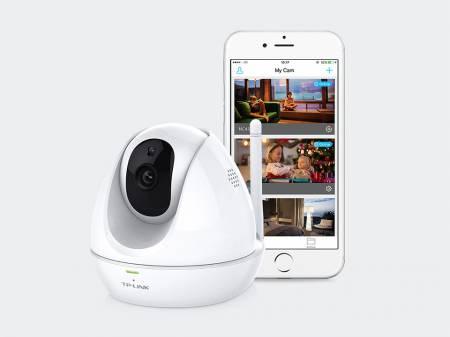 HD Pan/Tilt Wi-Fi камера с нощно виждане TP-Link TL- NC450 Wi-Fi
