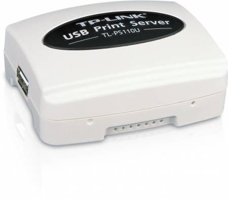 Принт сървър TP-Link TL-PS110U Fast Ethernet с USB порт