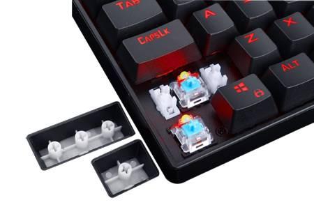 RGB геймърска механична клавиатура Redragon K552 Kumara