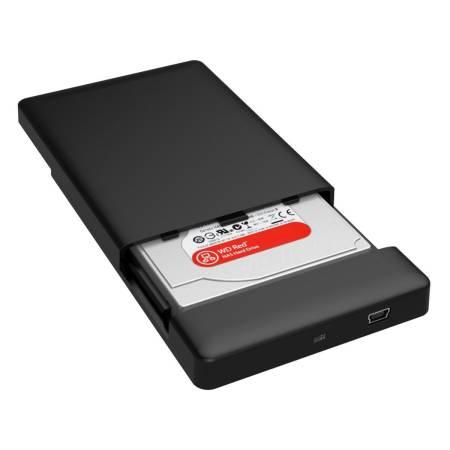 "Кутия за диск Orico 2588US3 Black 2.5"" USB 3.0 Tool Free SATA External Enclosure"