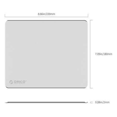 Алуминиева мини подложка за мишка Orico AMP2218