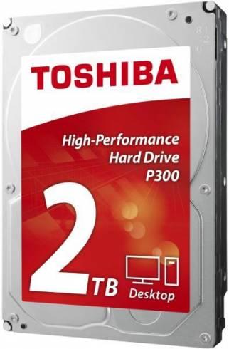 """Твърд диск Toshiba 3.5"""" 2TB P300 HDWD120UZSVA SATA3 64MB 7200rpm"""