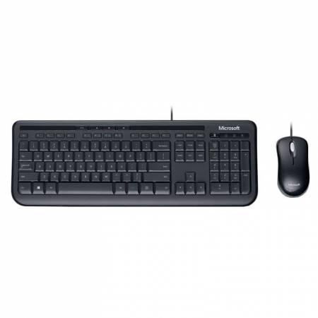 Комплект USB kлавиатура + мишка Microsoft Desktop Business 600 черна