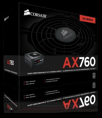 Захранване Corsair Professional Series AX