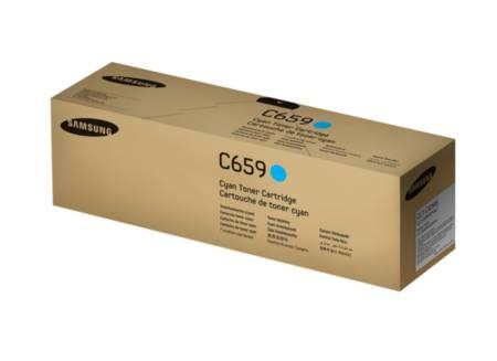 Samsung CLT-C659S Cyan Toner Cartridge