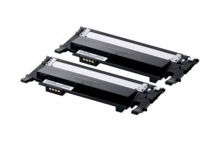 Samsung CLT-P406B 2-pk Black Toner Crtg