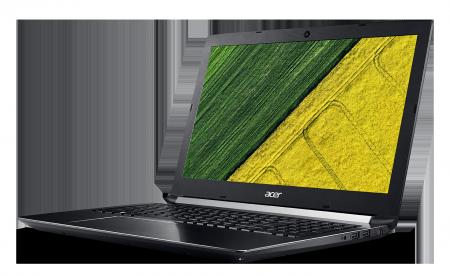 "PROMO BUNDLE (NB+256GB SSD NVMe) NB Acer Aspire 7 A717-71G-75MG/17.3""Full HD IPS/Intel® Quad Core™ i7-7700HQ/NVIDIA® GeForce® GTX 1060 6GB GDDR5/8GB(1x8GB)/1000GB+256GB NVMe (PCIe Slot)/Finger Print on Touchpad/Keyboard backlit/4L/LINUX"