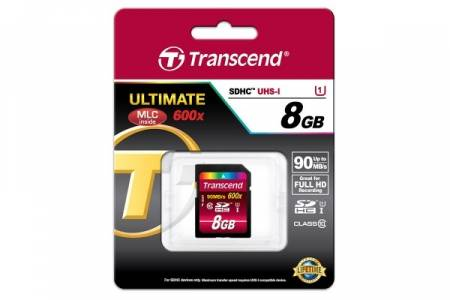 Transcend 8GB SDHC UHS-I Ultimate (Class10)