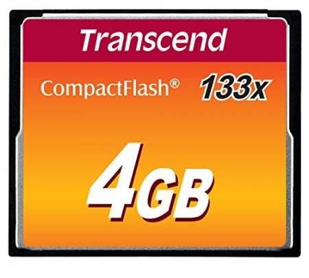 Transcend 4GB CF Card (133X)