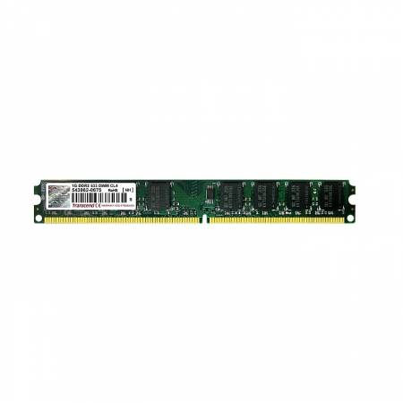 Transcend 1GB 240pin DIMM DDR2 PC533 CL4 Gold Lead