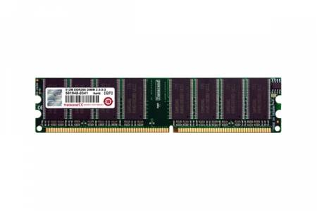 Transcend 256MB 184pin DIMM DDR400 CL3 Gold Lead