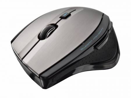 TRUST MaxTrack Wireless Mouse - black/grey