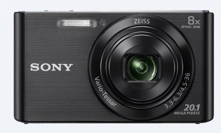 Sony Cyber Shot DSC-W830 black + Transcend 8GB micro SDHC UHS-I Premium (with adapter