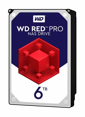 HDD 6TB SATAIII WD Red PRO 7200rpm 256MB for NAS and Servers (5 years warranty)