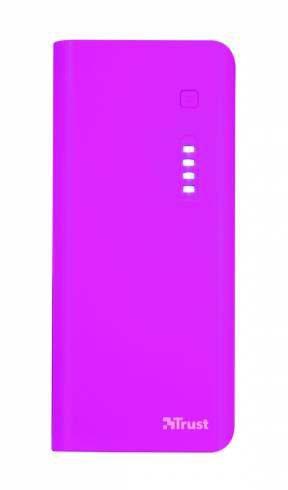 TRUST Primo Power Bank 10000 - pink