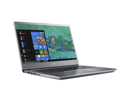 "NB Acer Swift 3 SF314-54-53NL/14.0"" IPS Full HD 1920x1080 Matte/Intel® Core™ i5-8250U/8GB(2x4GB)DDR4/ 256GB PCI-E SSD/Intel HD Graphics 620/ Keyboard backlight/Finger Print/Windows 10/Мetallic body (Anodizing) Sparkly Silver"