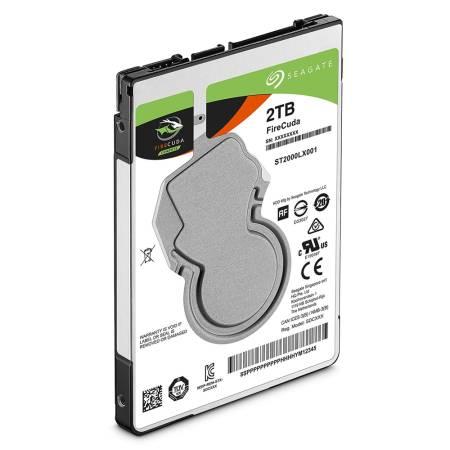 "Seagate 2TB FireCuda 2.5"" SATA 5400 / 128MB SSHD/Solid State7mm"