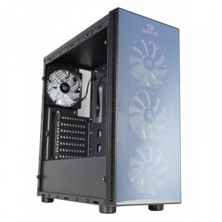 Кутия за настолен компютър REDRAGON Sidewipe GC-601-BK