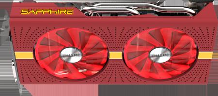 Цветен капак и охладител Sapphire NITRO GEAR COOLER SHROUD & BACKPLATE (RED) LITE