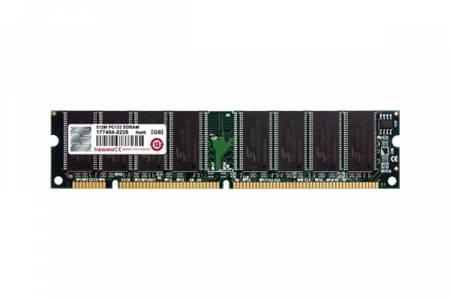 Transcend 256MB (JetRam) 168pin DIMM SDRAM PC133 CL3 Gold Lead