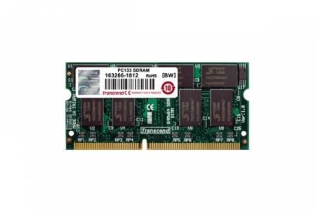 Transcend 128MB (JetRam) 144PIN SDRAM DIMM PC133 CL3 Gold Lead