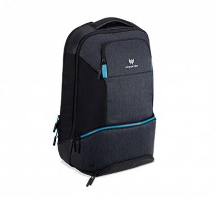 "Acer Predator Gaming 15.6"" Hybbrid Backpack Black with Teal Blue"