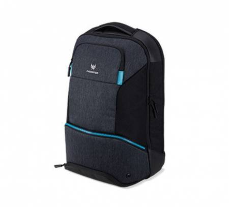 "Acer Predator Gaming 15.6"" Hybbrid Backpack Black with Teal Blue"