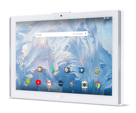 "Tablet Acer Iconia B3-A42-K8B6 (White) 4G LTE™/10.1"" WXGA IPS HD (1280x800)/MTK MT8735 quad-core Cortex A53 1.3 GHz/1x2GB LPDDR3"