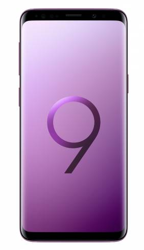 Samsung Smartphone SM-G960F GALAXY S9 STAR Lilac Purple + Samsung S9/S9+ Wireless charger standing (w/a TA) Black