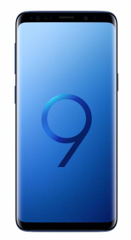 Samsung Smartphone SM-G965F GALAXY S9+ STAR2 Coral Blue + Samsung S9/S9+ Wireless charger standing (w/a TA) Black