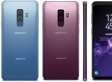 Samsung Smartphone SM-G965F GALAXY S9+ STAR2 Lilac Purple + Samsung S9/S9+ Wireless charger standing (w/a TA) Black