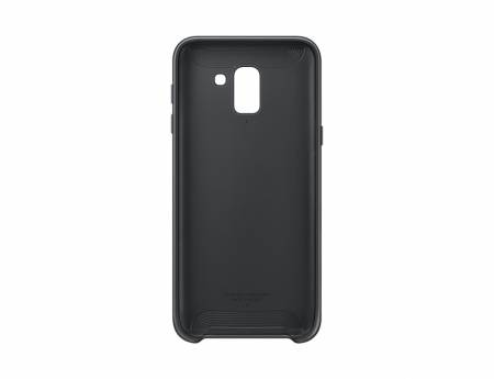 Samsung J6 Dual Layer Cover Black