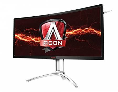 "Монитор AGON 35"" 100Hz MVA 3440x1440 16:9 NVIDIA G-SYNC 300cd 4ms"