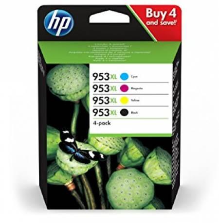 Консуматив HP 953XL 4-Pack Ink C/M/Y/K