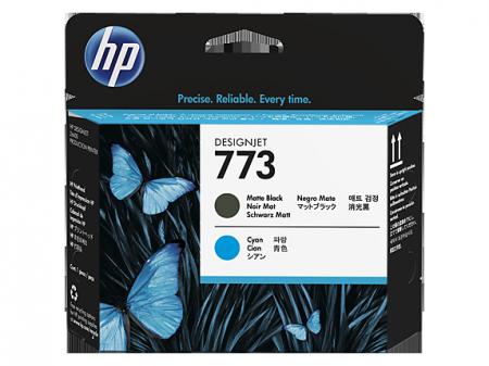 Консуматив HP 773 Matte Black/Cyan Designjet Printhead
