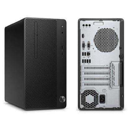 HP Desktop Pro A MT AMD Ryzen™ 2200G Quad-Core with Radeon™ Vega 8 Graphics (3.5 GHz base frequency