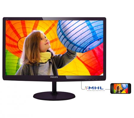 "Philips 21.5""   TFT-LCD monitor 1920x1080 FullHD 16:9 1ms Smart Response 250cd/m2 20 000 000:1"