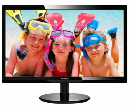 "Philips 24"" Slim LED 1920x1080 FullHD 16:9 5ms 250cd/m2 10 000 000:1 DVI"