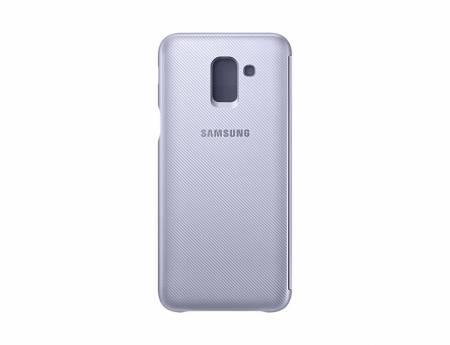Samsung J6 Wallet Cover Violet