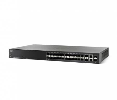 Cisco SG350-28SFP 28-port Gigabit Managed SFP Switch