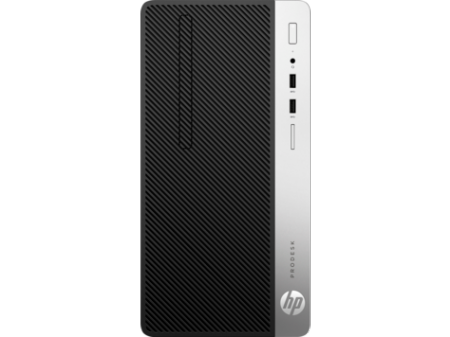 HP ProDesk 400G5 MT Intel® Core™ i5-8500 Processor (3.00 GHz up to 4.10 GHz 6 cores 9 MB Cache ) 8 GB DDR4-2666 SDRAM (1 X 8 GB) 256 GB PCIe® NVMe™ SSD DVD/RW Windows 10 Pro