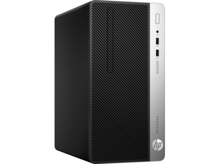 HP ProDesk 400G5 MT Intel® Core™ i5-8500 Processor (3.00 GHz up to 4.10 GHz 6 cores 9 MB Cache ) 8 GB DDR4-2666 SDRAM (1 X 8 GB) 256 GB PCIe® NVMe™ SSD DVD/RW FREE DOS