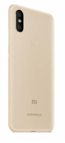 """Smartphone Xiaomi Mi A2 4/64 GB Dual SIM 5.99"""" Gold"""