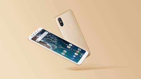 """Smartphone Xiaomi Mi A2 6/128 GB Dual SIM 5.99"""" Gold"""