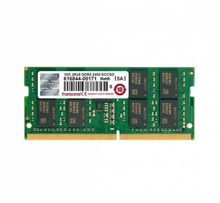 Transcend 16GB DDR4 2400 ECC-SO-DIMM 2Rx8