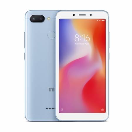 """Smartphone Xiaomi Redmi 6 3/32GB Dual SIM 5.45"""" Blue"""