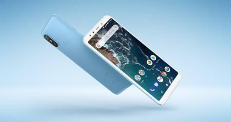 """Smartphone Xiaomi Mi A2 6/128 GB Dual SIM 5.99"""" Blue"""