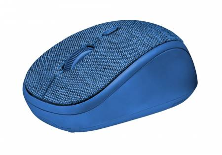 TRUST Yvi Fabric Wireless Mouse - blue
